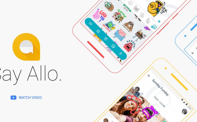 """""""Allo"""" la nuova app di messaggistica firmata Google"""