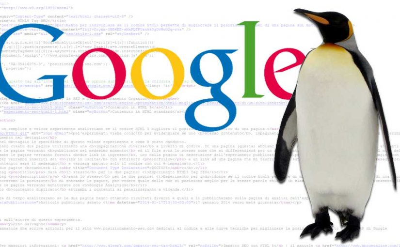 """Google aggiorna """"Penguin"""". L'algoritmo ora è in tempo reale"""