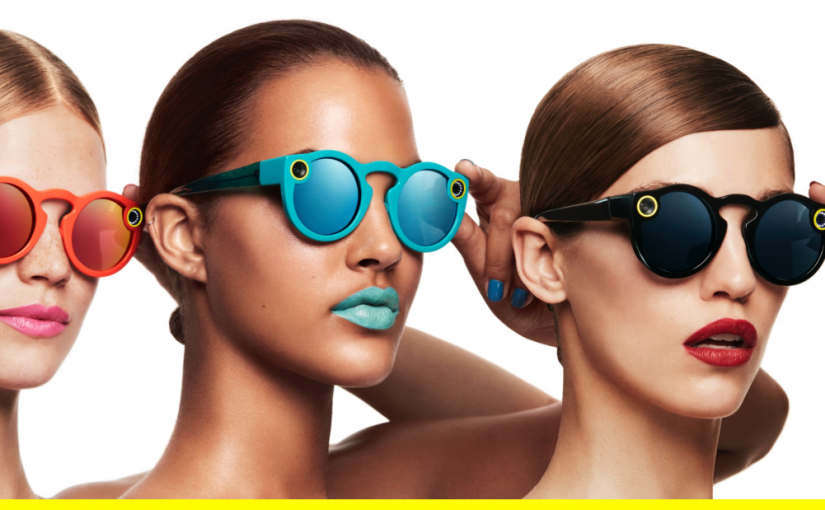 "Snapchat lancia ""Spectacles"", gli occhiali intelligenti"