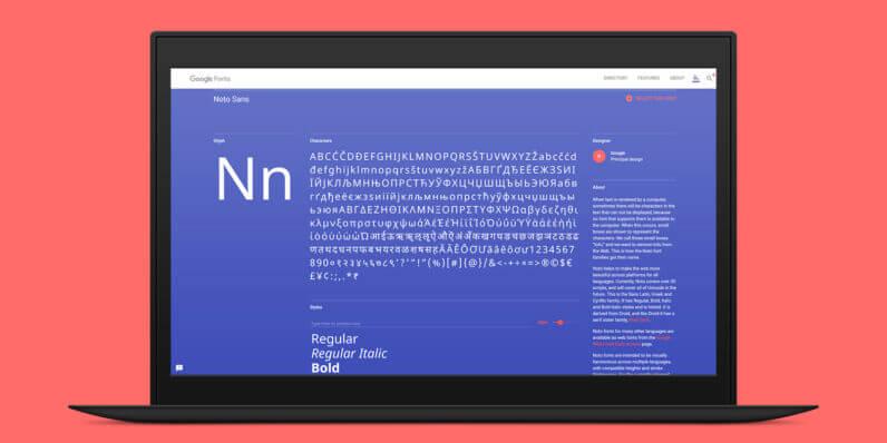 """Google presenta il nuovo font Noto, no more """"tofu"""""""